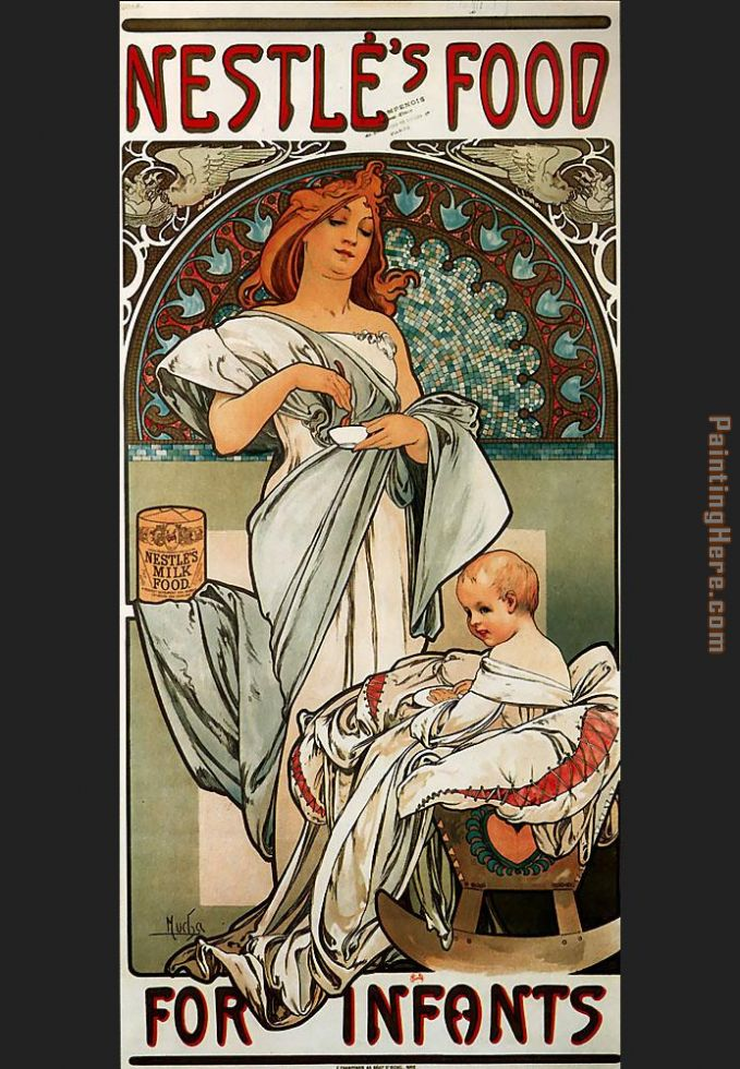 Alphonse Maria Mucha Nestles Food for Infants